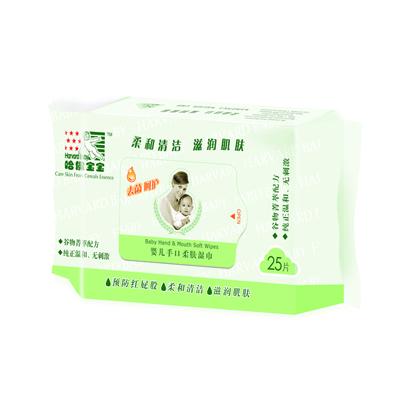 谷物菁萃·婴儿柔肤湿巾25片