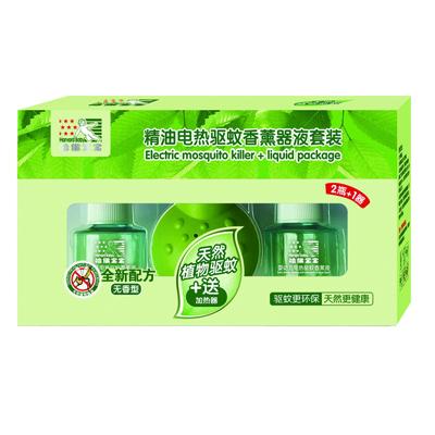 婴幼儿精油电热驱蚊香薰器液套装(2+1)